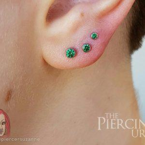 3 Ear Piercing