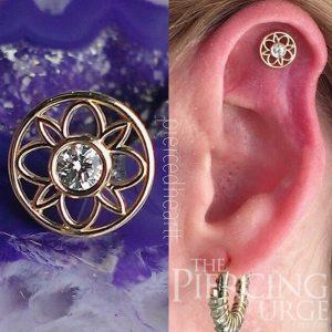 diamond-gold-flower-piercing