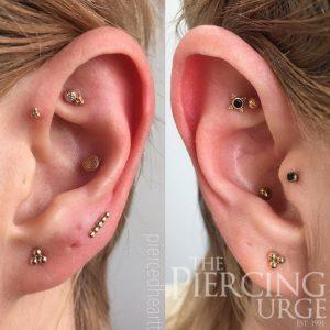 gold-ear-piercings